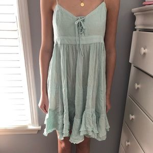FREE PEOPLE light blue sundress NEW WITH TAGS